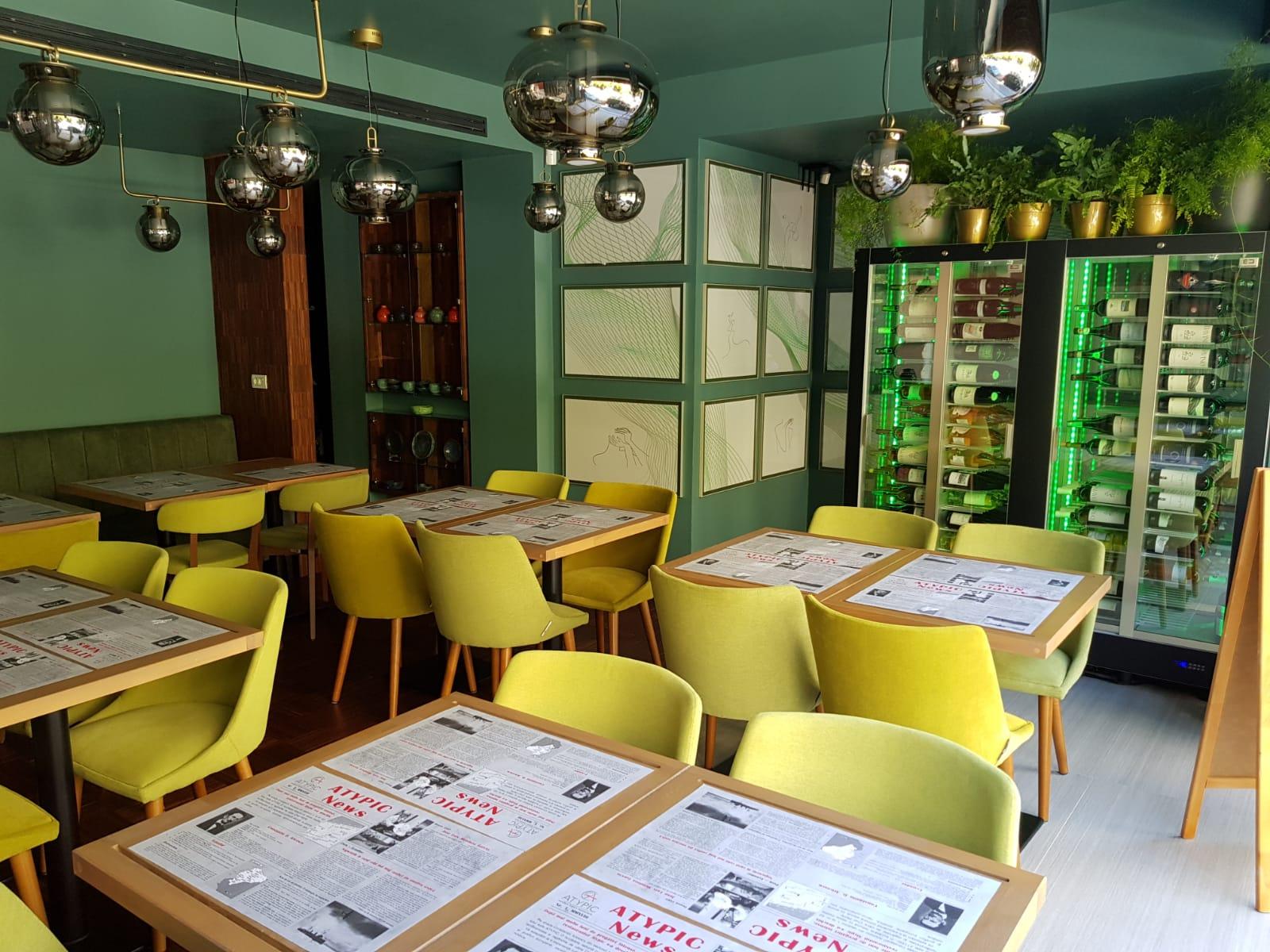 Restaurant Atypic: Bao cu 3 tipuri de chilli?
