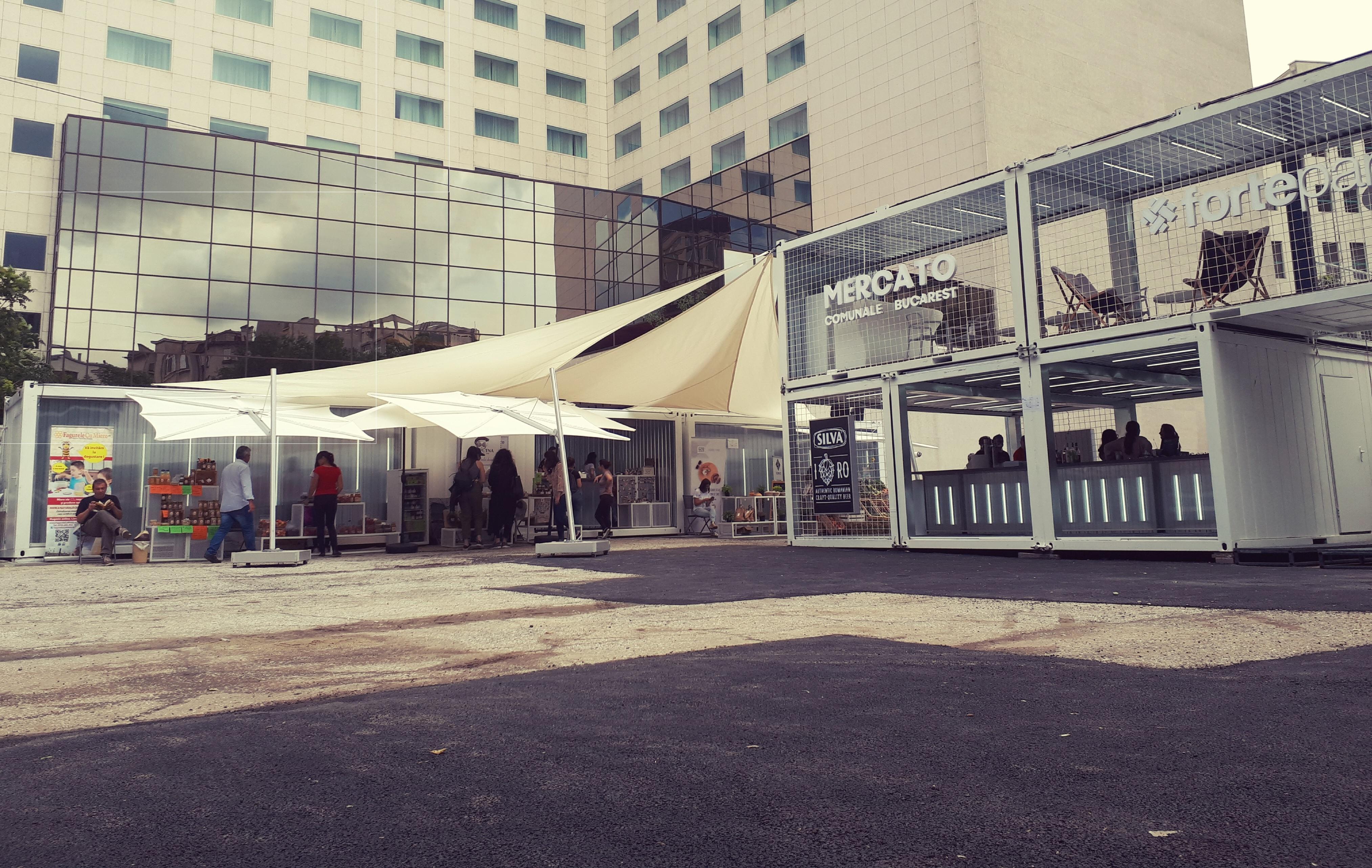 Mercato Comunale, piață urbană în București, bun venit!