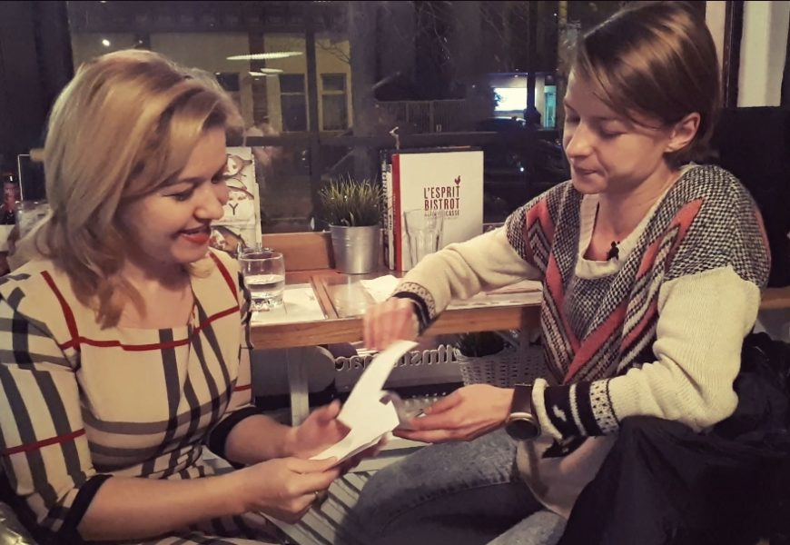 Interviu video #5 întrebări – coregrafa Andrea Gavriliu