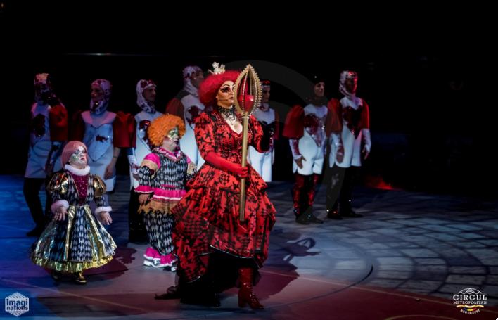 Alice in tara minunilor teatru circ De Corina Blog 1