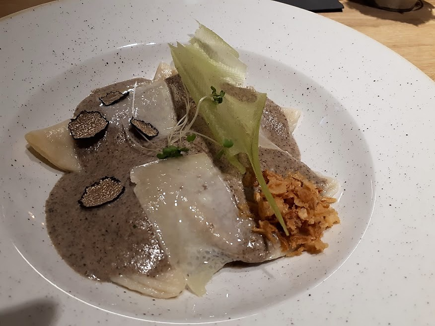 Gastrolab restaurant bucuresti, mâncare ciuperci