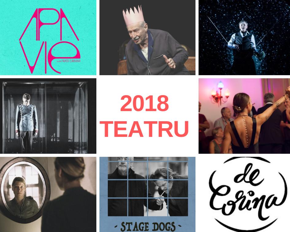 teatru spectacole top 2018