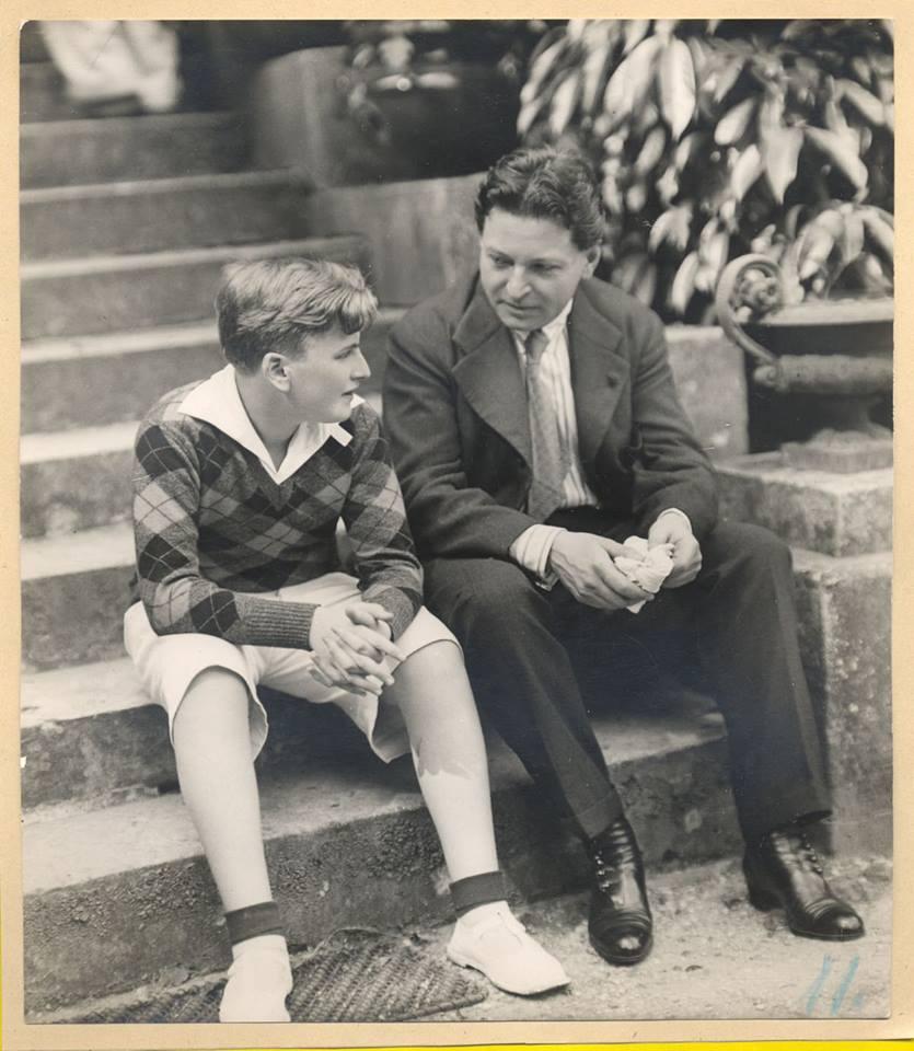 George Enescu și Yehudi-Menuhin