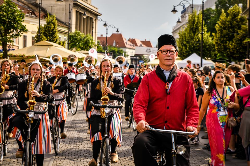 Fanfara pe biciclete - Dragoș Dumitru FITS 2019