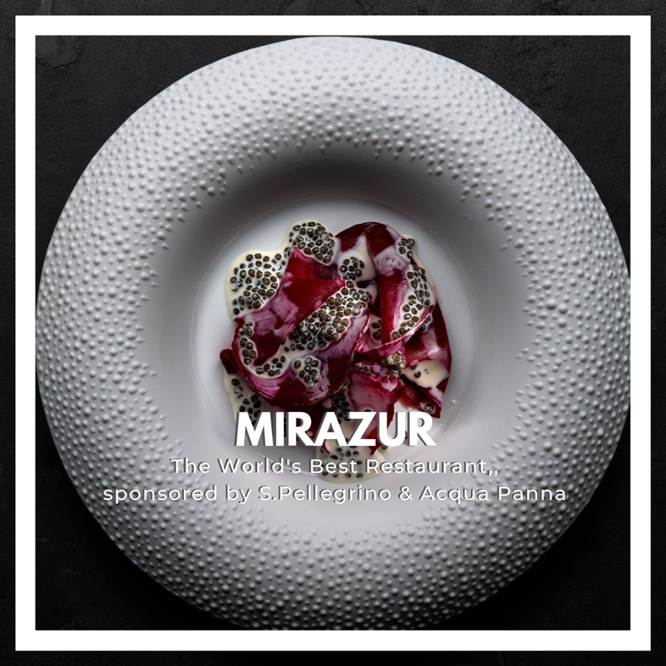 Mirazur - Menton - cel mai bun restaurant 2019 din lume