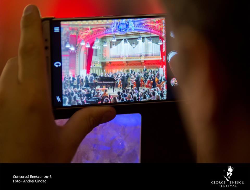 Concert Ateneul Român, Festival Enescu
