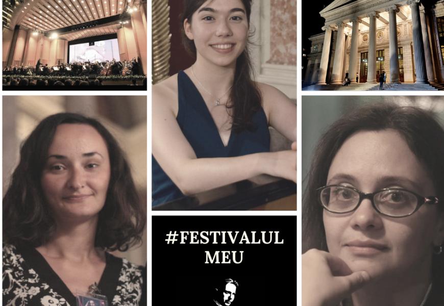 Festival Enescu #FestivalulMeu – Sabina, Magda, Kira (video)