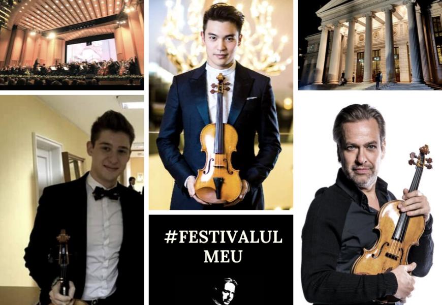Festival Enescu #FestivalulMeu – 3 violoniști (video)