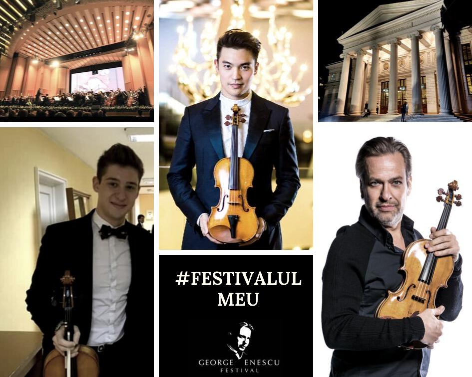 Festival George Enescu, 3 violoniști