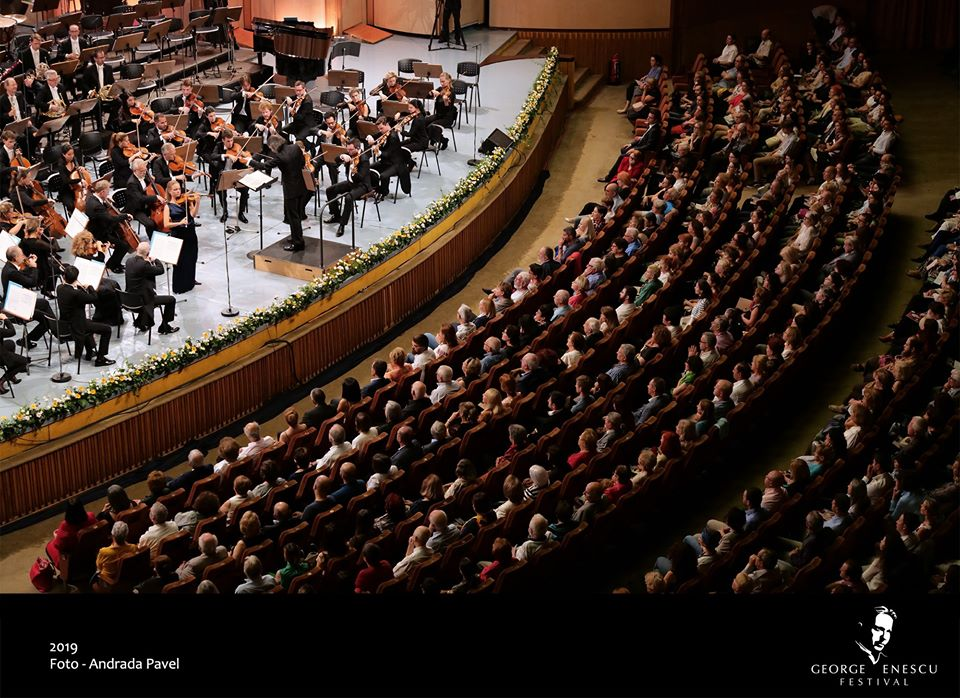 public Festival Enescu Sala Palatului concert