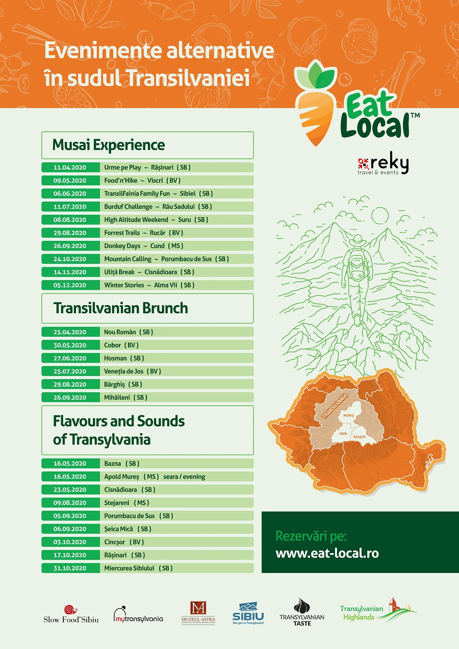 Asociația My Transylvania Brunch și evenimente Transilvania