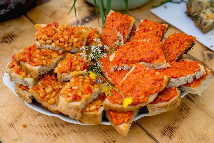 Brunch Asociația My Transylvania, mâncare în sate