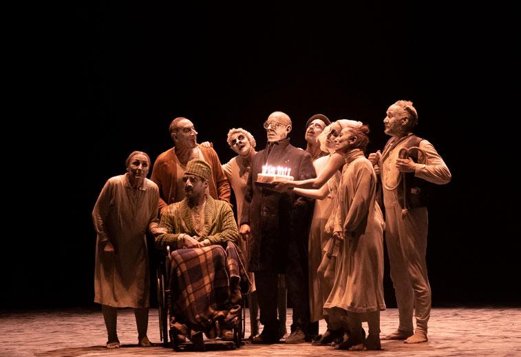 FNT teatru-dans May B, spectacol