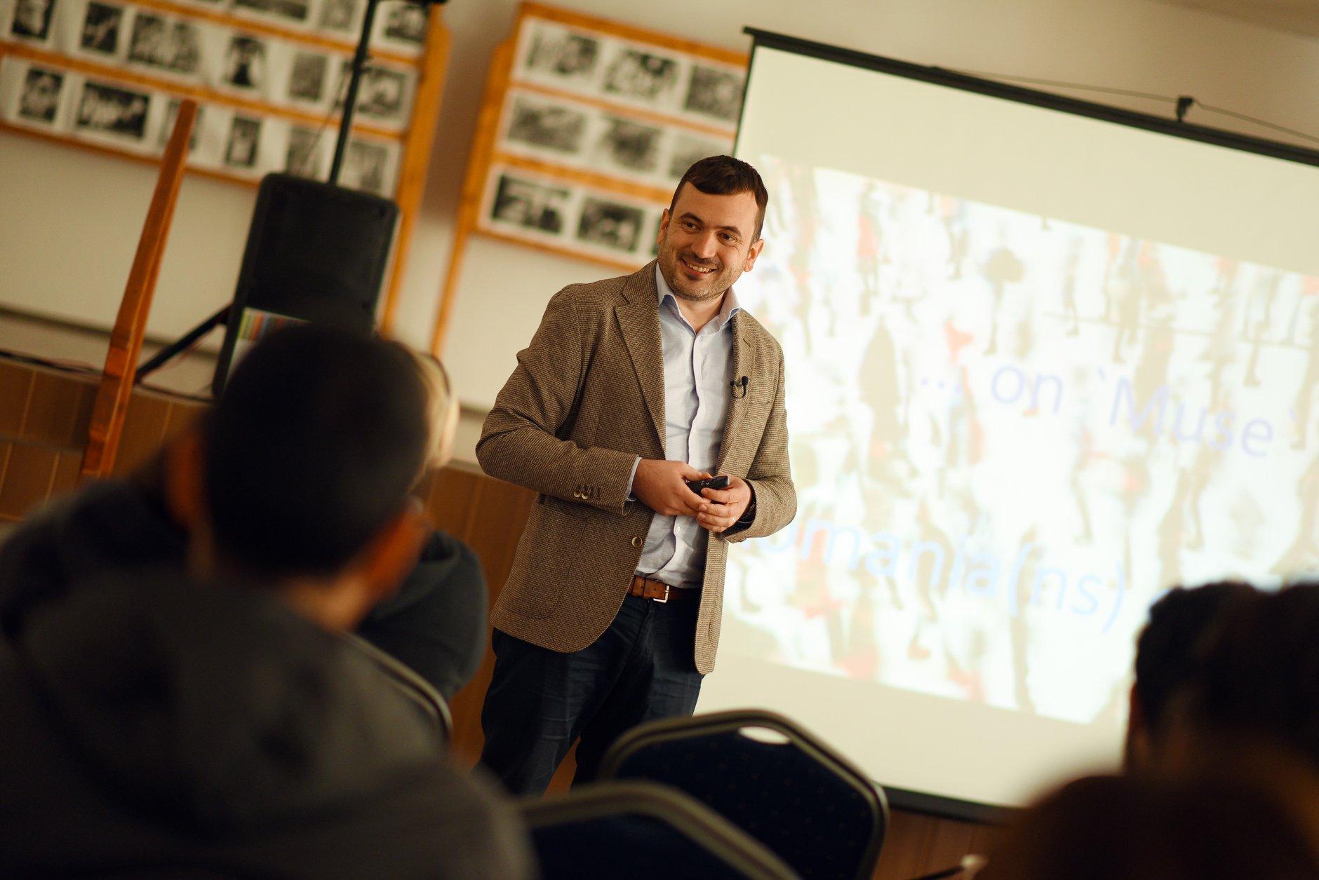 Cămine în Mișcare, workshop Alexandru Drăgan