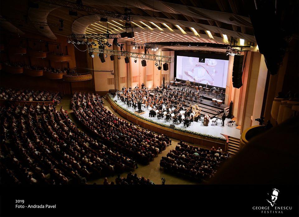Festival George Enescu, Sala Palatului concert, mari orchestre
