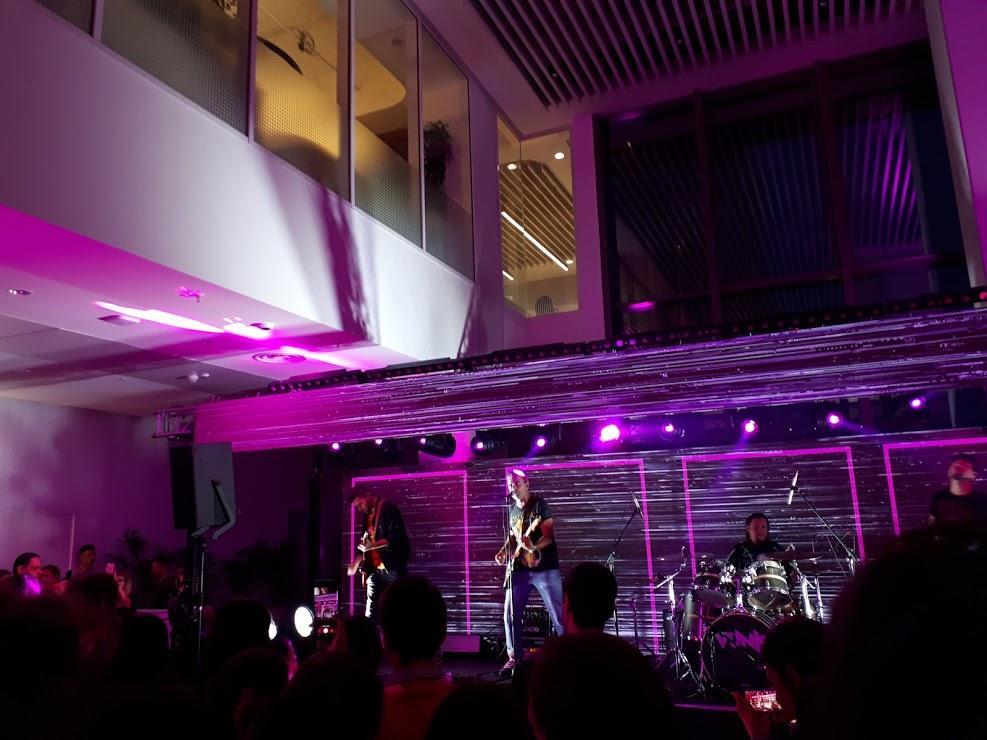 Concert Vunk la ING