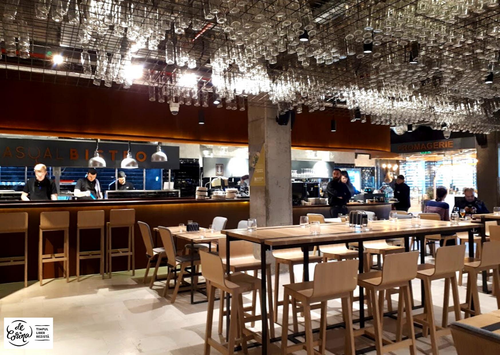 restaurant Maison Des Chefs bistro Mega-Image-concept-București-De-Corina-Blog