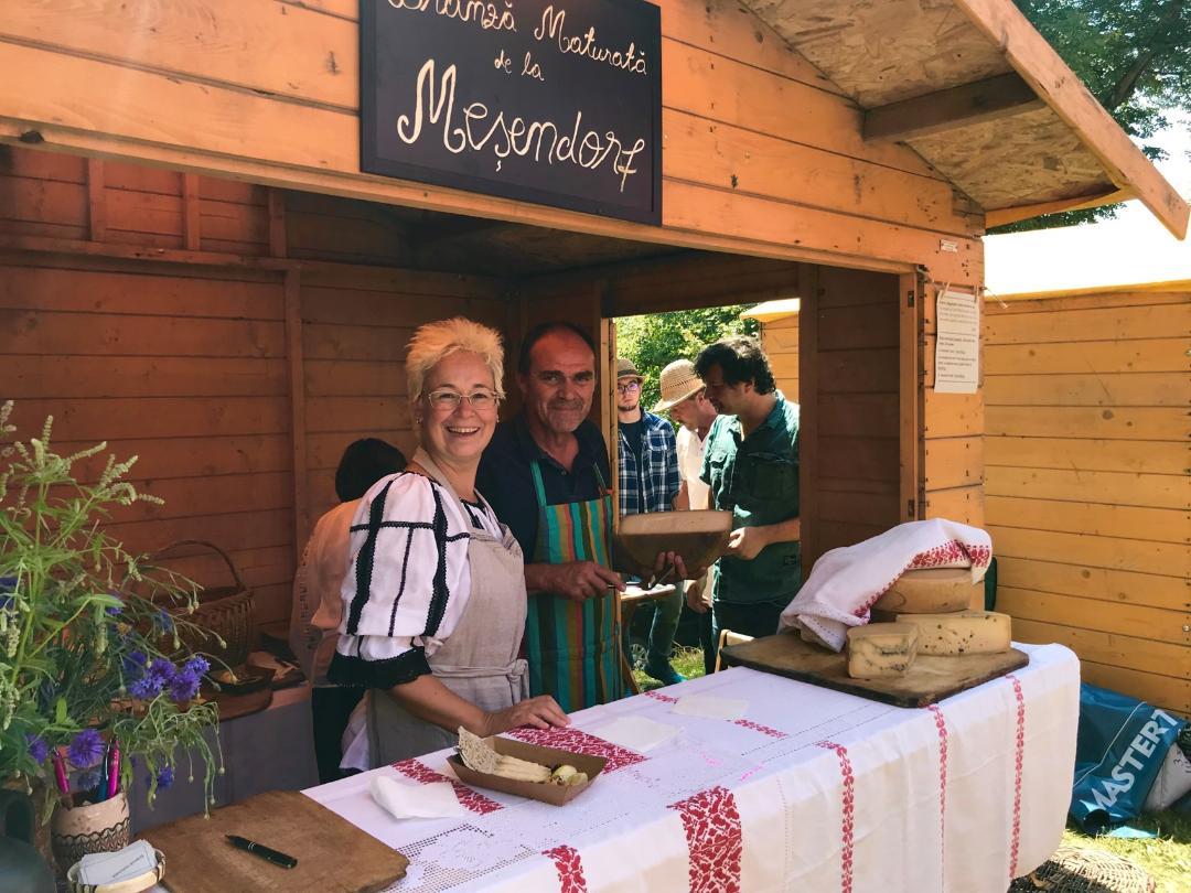 Meșendorf cheese brânzeturi artizanale maturate,, Oana și Adrian Udrea