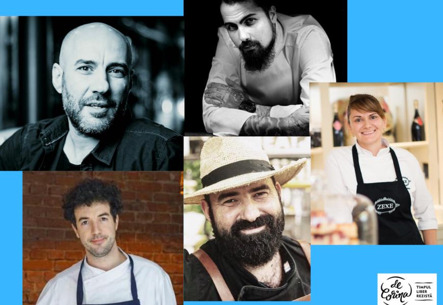 Starea de urgență în bucătărie. Interviu cu 5 Chefs despre perioada Covid.