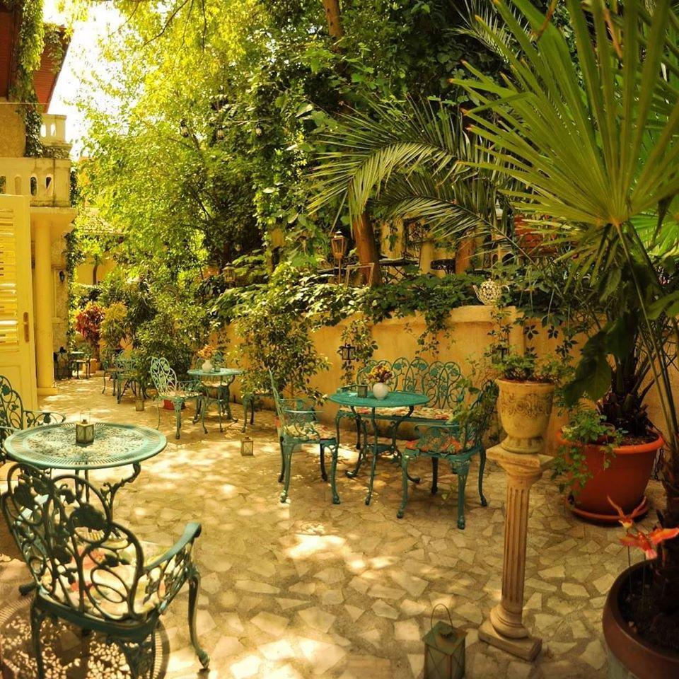Ceainăria Infinitea București grădină
