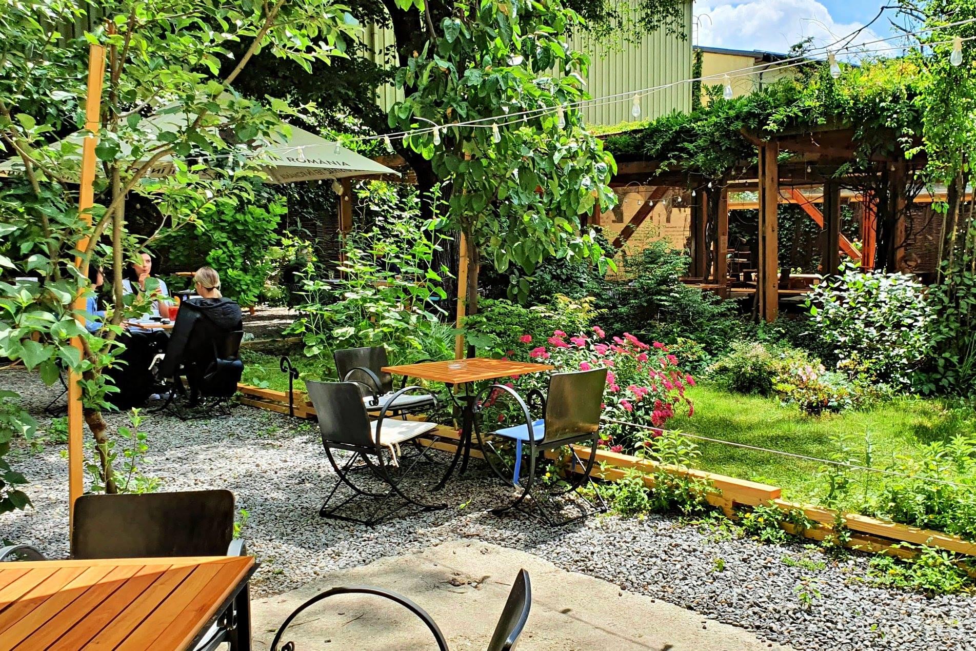 Cafe Verona grădină terasă București