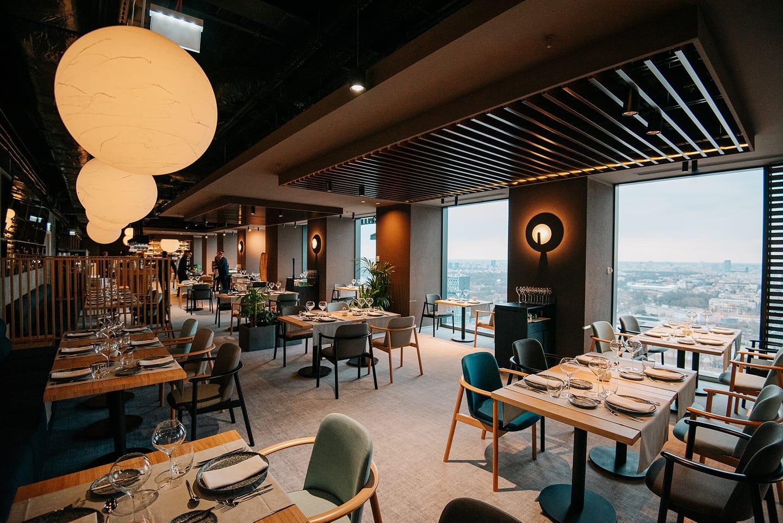 restaurant Fork Ana Tower - De Corina Blog, fine dining Bucuresti